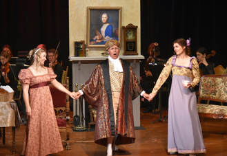 Liesl, Autumn, Larry in Secret Marriage Opera